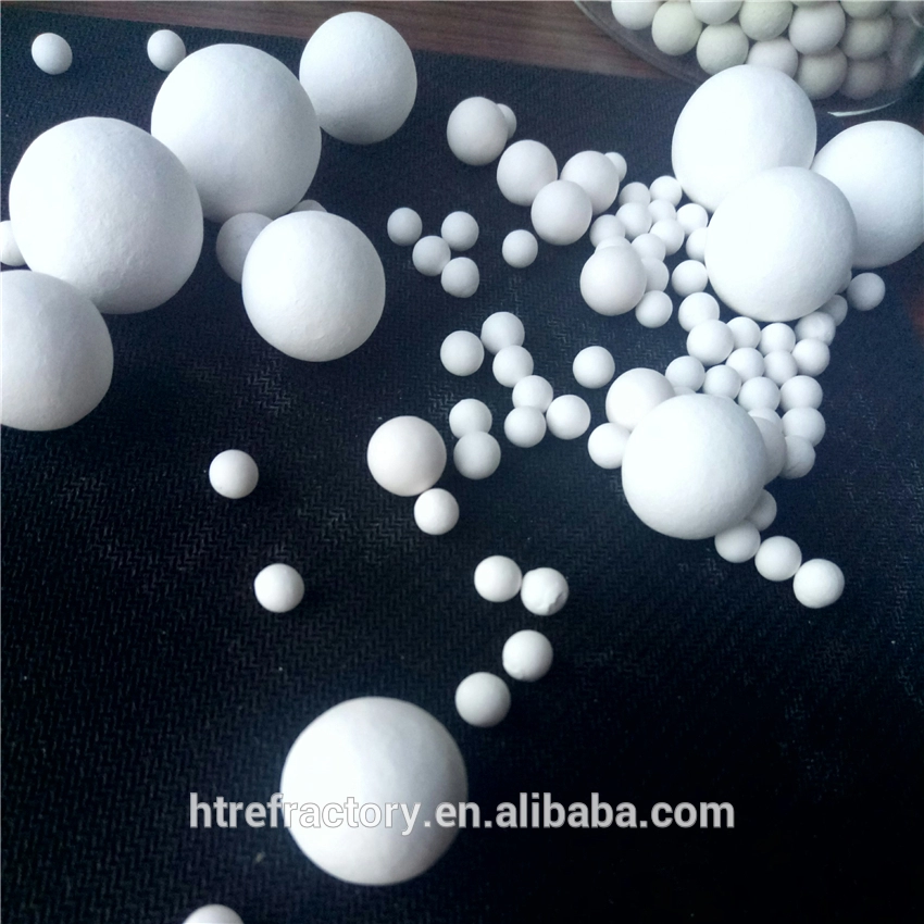 Heat storage Alumina Ball/High Strength Corundum Balle Alumina Ball