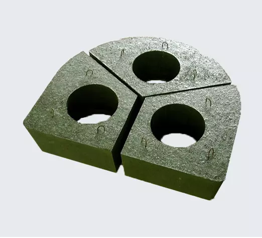 High quality low price Corundum mullite castable made Electric furnace Cover